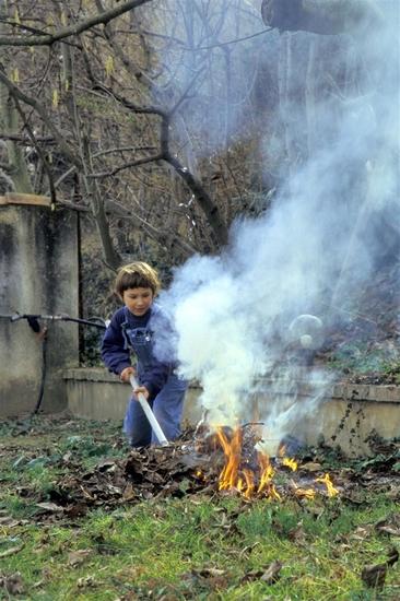 Enfance 5, le feu,